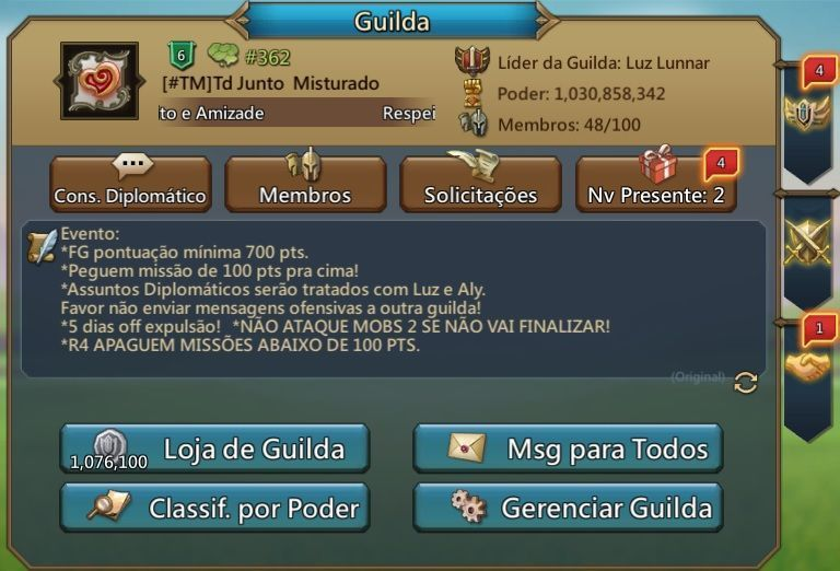lords mobile guilda
